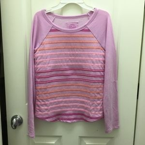 🥳 3 for $20 🥳 NWT🎉 Purple striped long sleeve